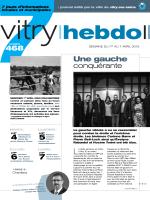 Une gauche conquérante 468 - Mairie de Vitry-sur