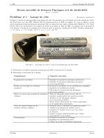 DS6 - Sciences Physiques en MP au lycée Clemenceau Nantes Site