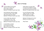 Chant du Printemps - Dessine