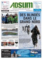 16 avril 2014 - Journal Adsum