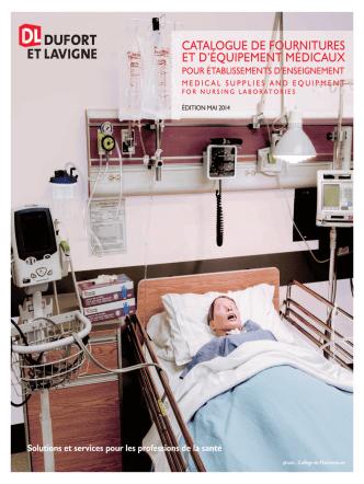 Catalogue Laboratoires de soins