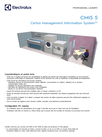 CMIS 5 - Electrolux