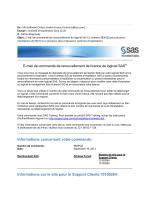 SAS 9-3 - Licence a domicile - renouvellement
