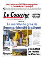Le marché de gros de Semmar bientôt éradiqué