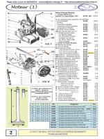 pièces détachées moteur 1 2cv dyane acadiane mehari ln lna visa