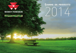 Catalogue MASSEY FERGUSON 2014