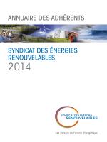 Annuaire 2014 des adhérents du SER