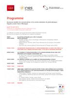 Programme - Office franco-allemand pour les énergies renouvelables
