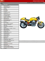 Parts List V 11 Sport 99-01 avec Rosso Mandello