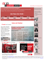 Les taux du mois : - Courtier en prêt immobilier, Brest, Guipavas