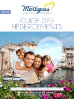 GUIDE DES HÉBERGEMENTS - Office de Tourisme de Martigues