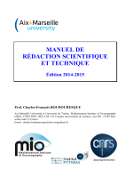 Manuel de rédaction scientifique et technique