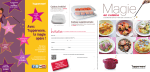 en cuisine - Tupperware Promotion