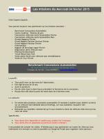 Benchmark Concessions Automobiles Les missions du