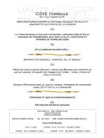 formule midi du 10 au 13 mars 2015