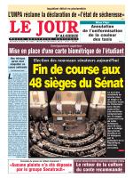 Mardi 29 12 15 - Le Jour d`Algérie