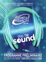 Mise en page 1 - dental forum 2016