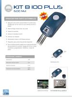KIT B 100 PLUS - Automatisme online