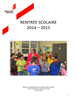 FC-DO-Rentrée scolaire 2014-2015