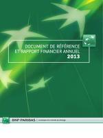 document de référence et rapport financier annuel
