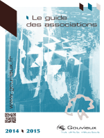 Guide des associations 2014-2015