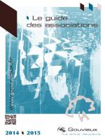 Guide des associations 2014-2015