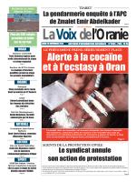 LA VOIX DE L ORANIE DU 10.11.2014