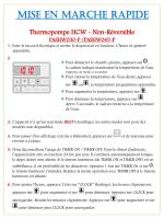 Mise en Marche Rapide - Thermopompe HCW