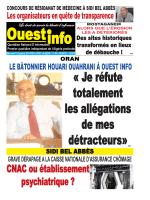 Mercredi 15 Octobre 2014 - Ouest-info
