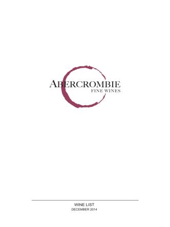 Abercrombie Fine Wines