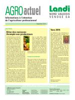 Agro Actuel septembre 2014 (pdf / 7149 KB)