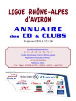 Annuaire CD-Clubs - Ligue Rhône