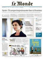Syrie : l`Europe impuissante face à Poutine