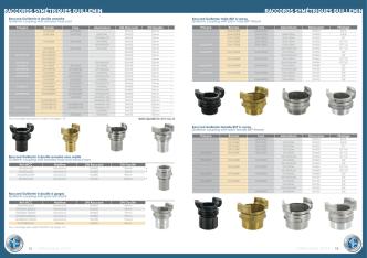 Catalogue Raccords symétriques Guillemin