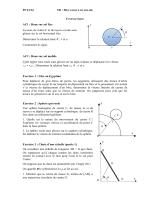 PC13/14 y x θ C I O AC1 : Roue sur sol fixe La roue, de centre C et