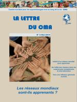 Vol.3 No.5 pdf 2.3 Mo - Comité mondial pour les apprentissages tout