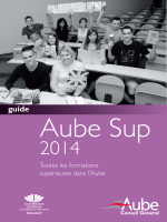CG Aube Sup 2011 - Aube Développement