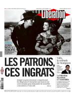 Libération du mercredi 3 décembre 2014