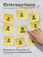 Ressources humaines et Formation professionnelle