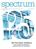 Die Uni feiert Jubiläum - Université de Fribourg