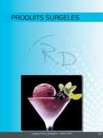 PRODUITS SURGELES - Rossi Distribution