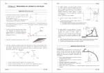 TD Méca5 : - Physique en PCSI