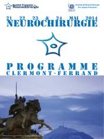 Neurochirurgie P rogramme - Nantes 2015