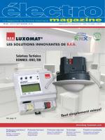 N° 62 - Août-Septembre 2013 - Électro magazine filière électrique