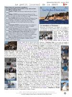 Les Informations diverses : - Société Nautique de Saint