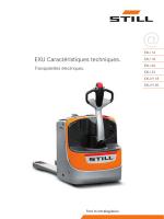 EXU Transpalette électrique