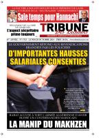 TRIBUNE DES LECTEURS DU 20.10.2014