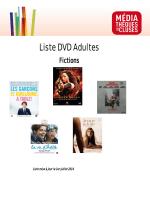 Télécharger la liste complète des films