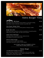 Astra Burger Time - Astra Hotel Vevey