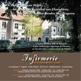 De oudste stad van België, het gezelligste begijnhof van